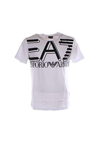 Emporio Armani EA7 Hombre Camiseta White M