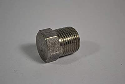 """Goulds 6K1, Pipe plug 1/8"""" NPT, Steel, Fits All JRD, HSJ, J+, JS+, JRS, SJ, 3642, 3742 & BF03S Models"""