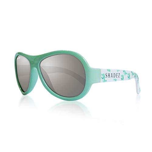 Shadez Lunettes de soleil pour enfants, protection contre les rayons UVA et UVB, taille Baby – Vert avec coccinelles – 30 g