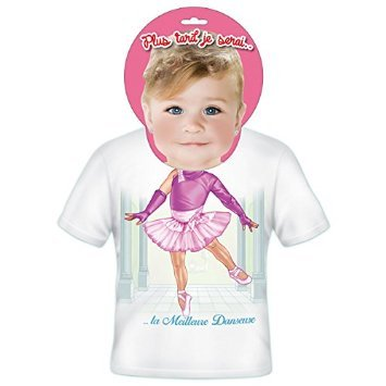 T-shirt Enfants Plus tard je serais Danseuse 2 ans