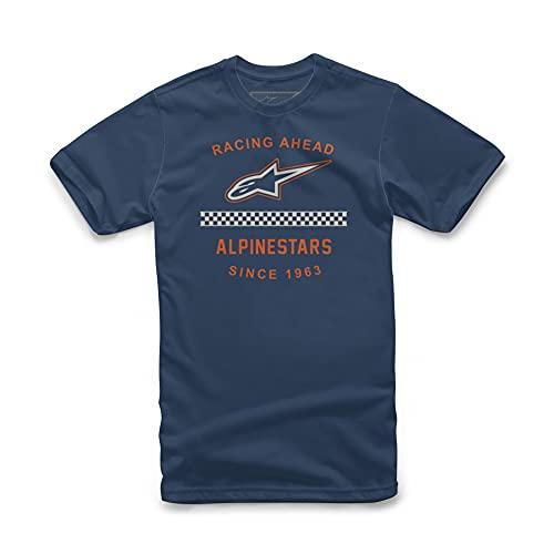 Alpinestars, Origin tee, Camisa Manga Corta, Armada, S, Hombre
