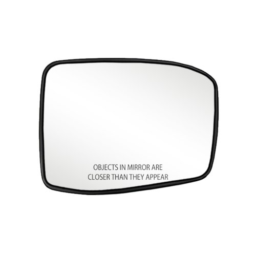 Fit System 80257 Honda Odyssey Right Side Power Replacement Mirror Glass with Backing Plate