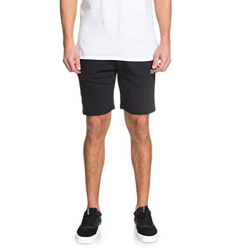 DC Shoes Rebel - Short De Felpa para Hombre Short De Felpa, Hombre, Black, M