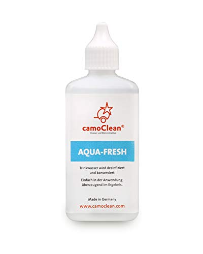 Wasseraufbereiter Trinkwasser Desinfektion Konservierer Ohne Chlor 100ml – Trinkwasseraufbereitung geruchs- und geschmacksneutral