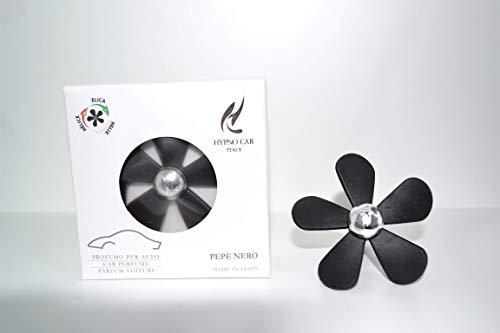 HYPNO parfum voor auto ELICA Pepe zwart Made in Italy
