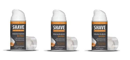 Shave - Réducteur de pilosité pour barbe - 150ml (3 flacons)