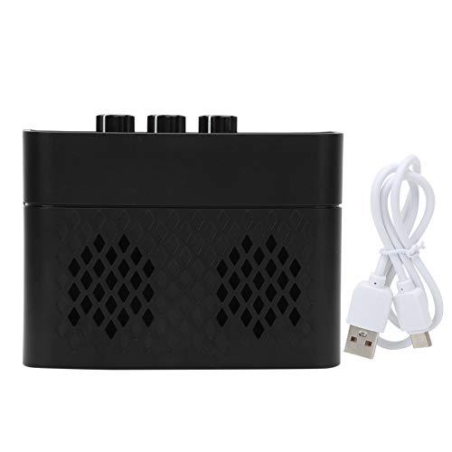 Amplificador de guitarra eléctrica, amplificador de guitarra eléctrica portátil con función Bluetooth...