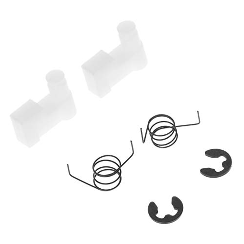 GROOMY 6 Teile/Satz Schwungrad Starter Klinke Federclip Rückstoß Für Kettensäge 4500/5200/5800