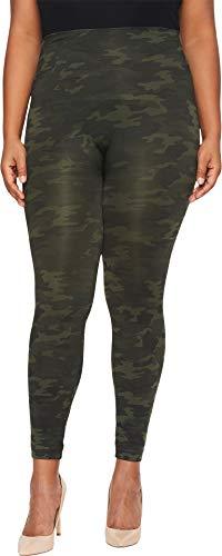 Spanx FL3515 Leggings, Verde (Green Camo Green Camo), 40 (Tamaño del Fabricante: L) para Mujer