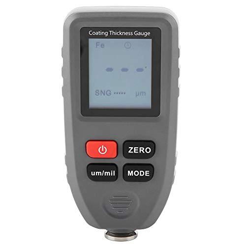 Messgerät der Stärke der Lackbeschichtung des Messgeräts der Lackstärke des Autolacks, die den Maßstab des Lacks des Lacks des Zink