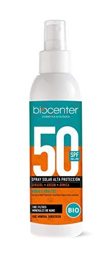 SPF50 Spray Solar ecológico - alta protección - Biocenter