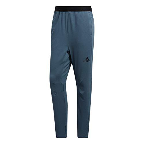 adidas City Fleece PNT Pantalón, Hombre, azuleg, M