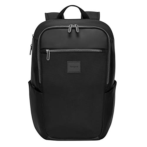Targus Urban Expandable Backpack with Minimalistic Interior Design for College Student with Protective Laptop Pocket fit up to 15.6-Inch Laptop/Notebook, Black (TBB596GL)