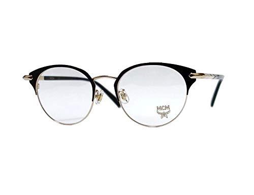 MCM MCM2126A - Gafas de Sol metálicas Shiny Gold/Black Unisex Adulto, Multicolor, estándar
