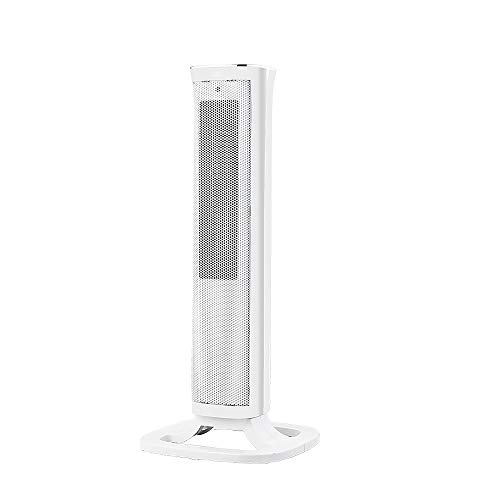 31SkDTyVAkL. SS500  - Oscillating White Tower Fan Heater -2000W Ceramic PTC - Thermostat, 3 gears adjustable, LED Display, Portable Design…