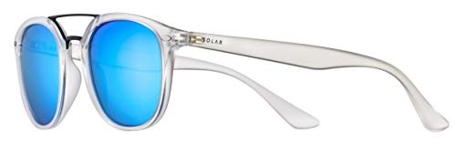Solar sonnenbrille Miller Herren polarisiert transparent