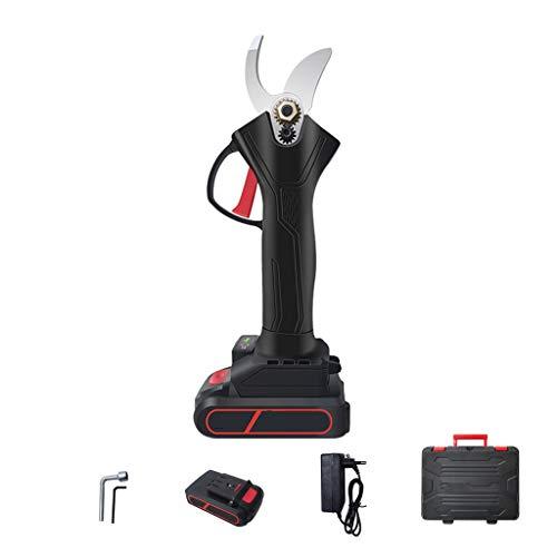 Scissors Yxx@ Tijeras eléctricas para Cortar Ramas 30mm 21V Tijeras de podar eléctricas sin Cuerda del jardín,Recortadora de arbustos de árboles frutales
