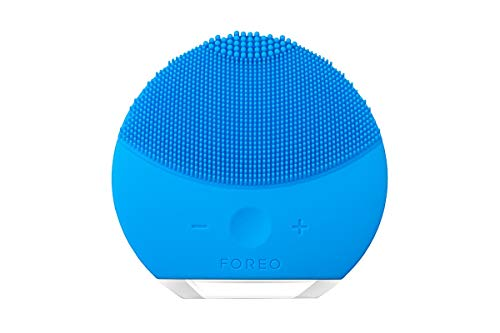 FOREO LUNA mini 2 Facial Cleansing Brush for Spa Skincare at Home, Aquamarine