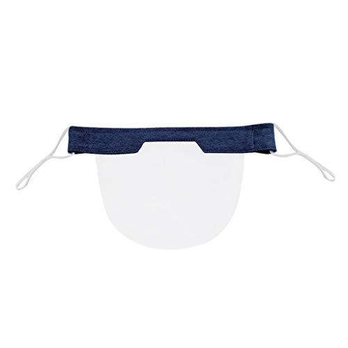 Humeng Mini Shield Waschbar Wiederverwendbar Komfortabel Transparent PVC Visual Made in Germany