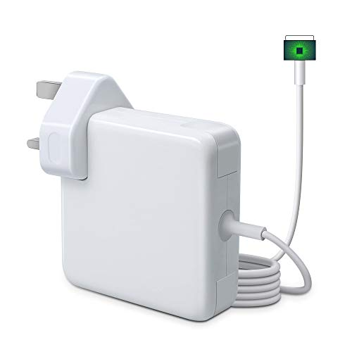 Compatible With MacBook Pro Charger, Replacement 85W Magnetic 2 Power Adapter Connector PD Power Delivery Fast Charging, Mains Adapter Plug for Mac Book 15 & 17 inch A1424 A1398 (2012 Late UK Plug)