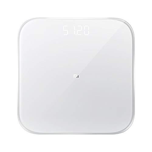 Gooplayer para la Escala de Peso Original Xiaomi Mi Smart 2 Escala de ponderación de Salud Bluetooth 5 Escala Digital Soporte Android 4.4 iOS 9 Mifit App