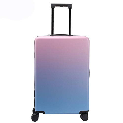 Luggage Carry-On, Lightweight Sturdy Durable Waterproof Small with Spinner Wheels Fashion Suitcase for Adults Student Tourism-33x18x50cm-Suit