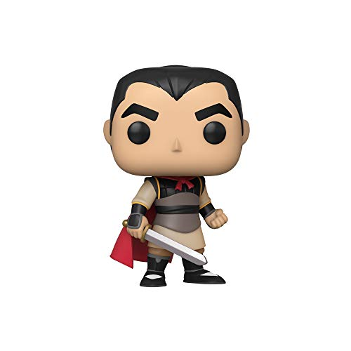 Funko- Pop Disney: Mulan-Li Shang Collectible Toy, Multicolor (45329)