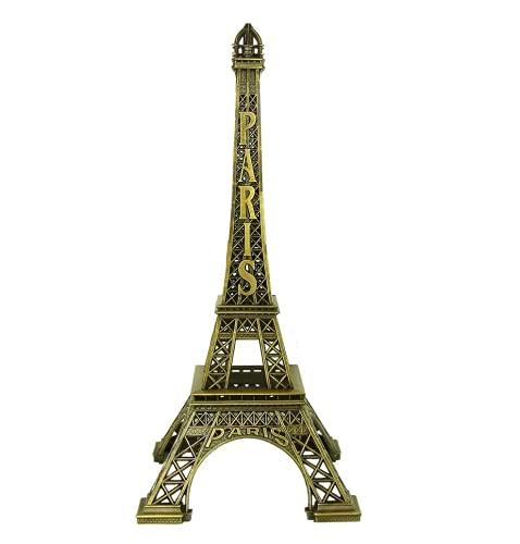 Home Ware Souvenir Torre Eiffel de Paris Material Metal Resistente Adorno Regalo Decoracion Medida (18 cm)