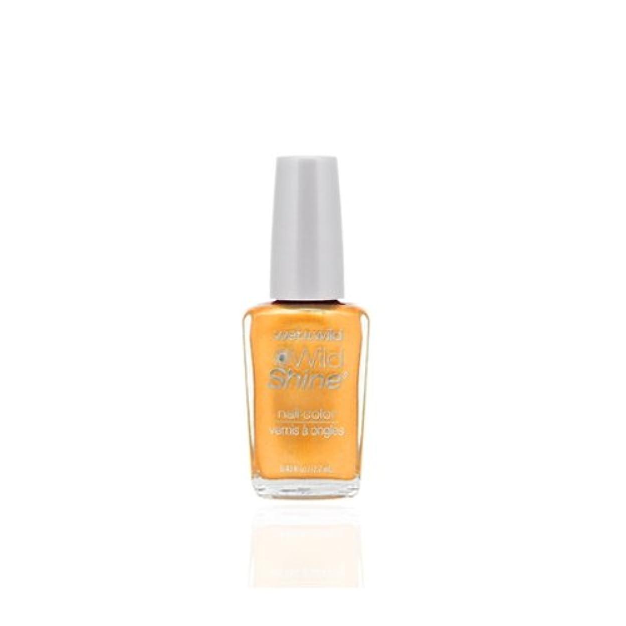 測定膨張する証言WET N WILD Wild Shine Nail Color - Sunny Side Up (並行輸入品)