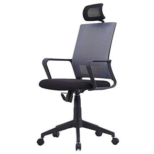OSALADI vrijetijdsstoel bureaustoel verstelbare bureaustoel stoel leuning met krukken computerstoel klapstoel draaistoel werkstoel
