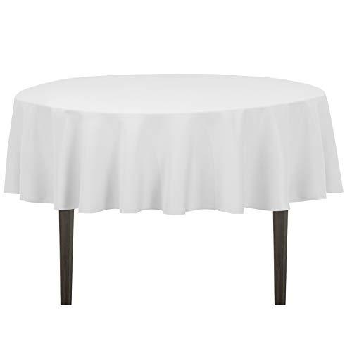 mantel mesa redonda de la marca LinenTablecloth