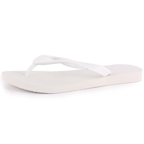 Havaianas Top, Chanclas Unisex Adulto, Blanco (White), 37/38 EU
