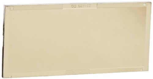 """Gateway Safety 24G11 Polycarbonate IR Filter Welding Lens, Shade 11, 4-1/4"""" Length x 2"""" Width, Gold-Coated"""