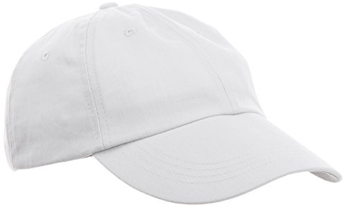 anvil Herren Low Profile Twill Cap 6 Panel / 176, Gr. one size, Weiß (WHT-White)