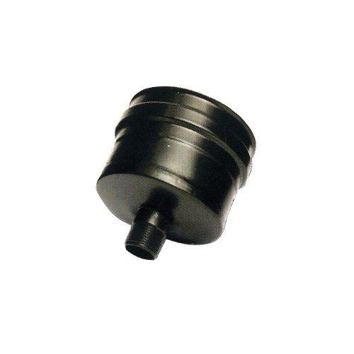 Open Plug ANTI pour poêle à pellets INOX NOIR Ø12 cm