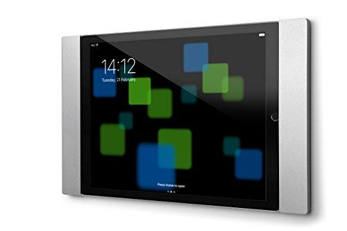 smart things solutions things s13 s sDock Fix Silber - Abschließbare Wandhalterung und Ladestation zur dauerhaften Installation für Apple iPad Apple Pro 12,9