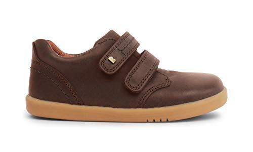 Bobux I-Walk Port Dress Shoe_Caminantes – ein Sportschuh aus weichem Leder mit flexibler Sohle. Ideal für alle Situationen im Herbst und Winter., Brown - braun - Größe: 23 EU