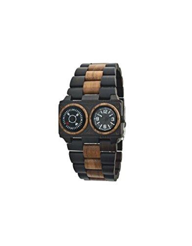 Orologio legno Wood Watch Green Time by ZZERO - Gent - ZW072B