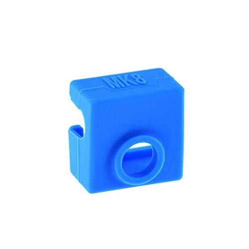 Mechatronics-Pro 3D-Drucker Heizblock Silikonhülle Isolierung Silikon Socke MK8 Hotend blau