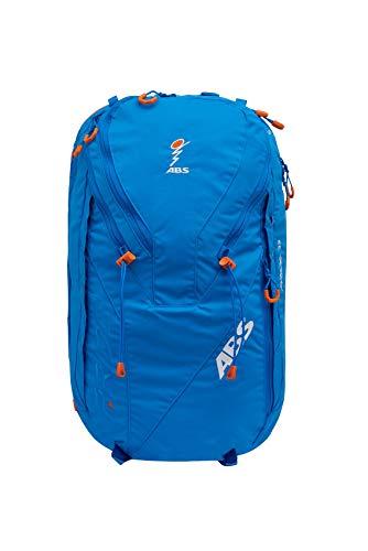 ABS Unisex– Erwachsene Lawinenrucksack Zip-On 32, Packsack für P.Ride Original und Vario Base Unit, Fach für Sicherheitsausrüstung, 32L Volumen, Ski-und Snowboardhalterung, Helmnetz, Ocean Blue