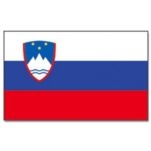 Vlaggenking Slovenië, vlag, meerkleurig, 150 x 90 x 1 cm, 17000