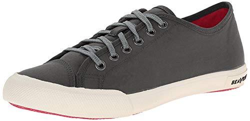 SeaVees Women's Army Issue Low Standard Casual Sneaker, 11 M US, Black