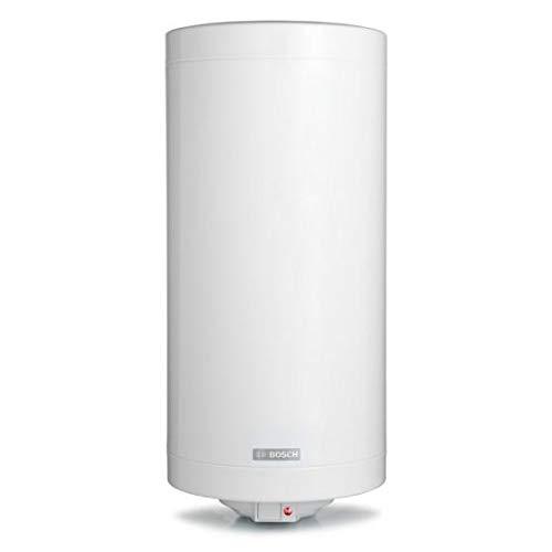 Bosch Scaldabagno Elettrico Tronic 2000 T Slim - 50L, bianco, per installazione verticale a parete [Classe Energetica C]