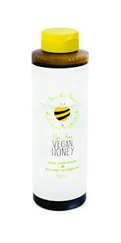 Blenditup Bee Free Vegan Honey (16 Oz) - Plant Based & All Natural Apple Made Honey - Ideal for Sweetening Foods of Your Choice