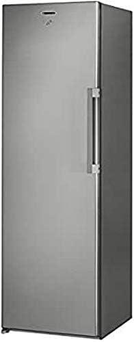 Whirlpool UW8 F2Y XBI F Independiente Vertical 260L A++ Acero inoxidable - Congelador (Vertical, 260 L, 22 kg/24h, SN-T, Sistema de descongelado, A++)