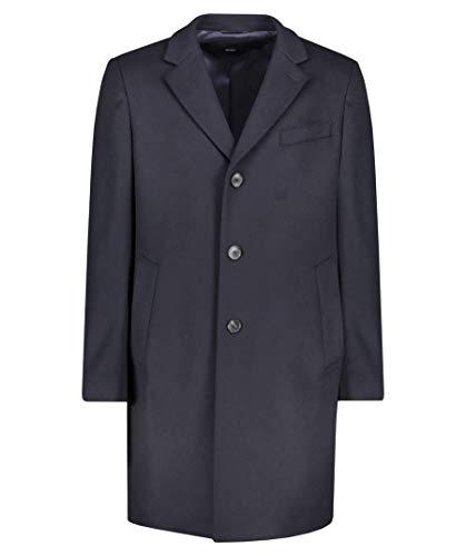 HUGO BOSS mantel wol en kasjmier met Revers Classic Model Nye2-50394082