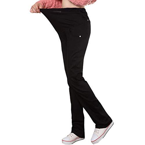 Hivia Leggins Embarazada Termicos Pantalones Premama Legging Banda pará Barriga Pantalon Maternidad Leggings Invierno Cintura Alta Elasticos Tallas Grandes/M