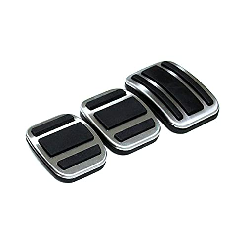 YINHUI AT MT Pedal Cover Fit per Peugeot 308 2007-2019 3008 / GT 2016-2019 408 2010-2019 4008 5008 Auto Styling Pad Break Accelerator Pedals (Color Name : MT)
