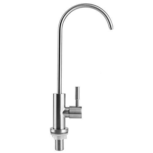 YUN 304 Cocina De Acero Inoxidable Beber Agua Grifo Grifo para El Sistema De Filtración De Agua Ro G1 / 2in Hilo