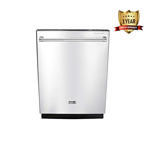 Thor Kitchen 24 Inches Built-In Dishwasher - Stainless Steel...